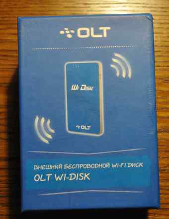 Жесткий диск OLT 32гб Wi-Fi/ USB 2.0