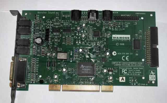 SB PCI Diamond Monster Sound MX300