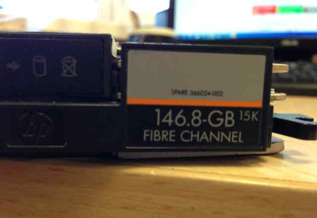 Жесткий диск HDD 146Gb 15K fibre channel