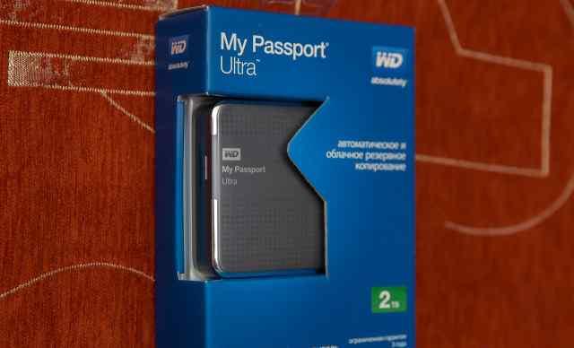 WD HDD 2 Tb My Passport 2 USB 3.0 (новый)