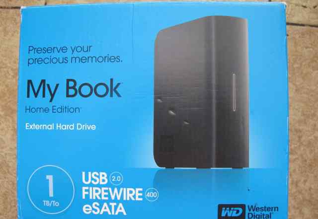 Внешний диск WD My Book 1Tb