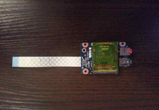 Звуковая плата с карт-ридером Lenovo G560