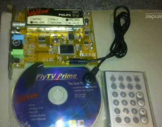Тв тюнер LifeView FlyTV Prime 34