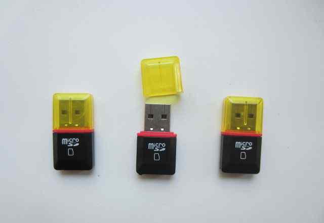 Переходник Micro SD на USB