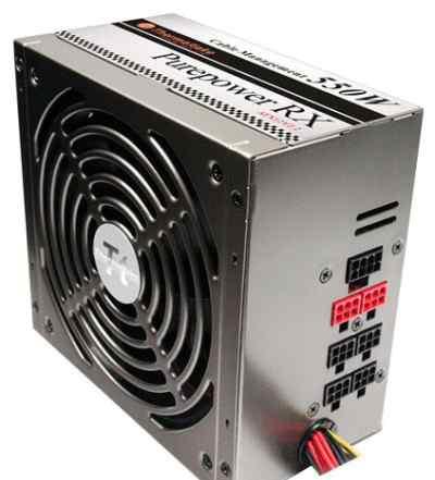 Thermaltake Purepower RX550W новый полный комплект