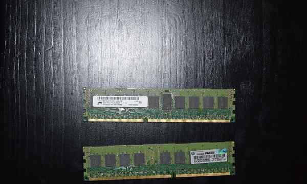 Память Micron 8GB PC3-12800-11-11-c2