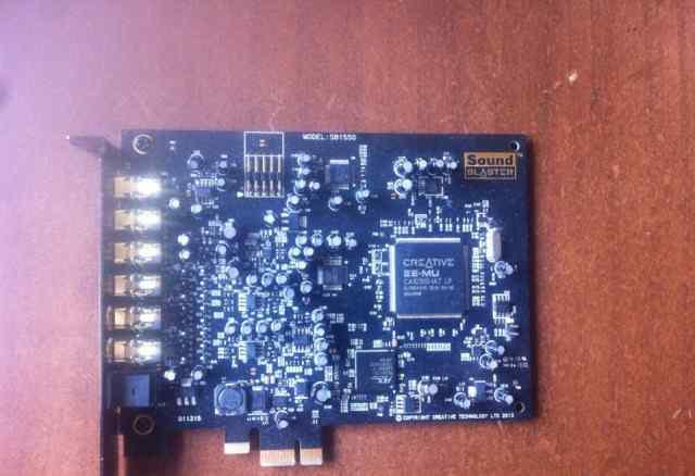 Звуковая карта Creative SB Audigy RX (SB1550)