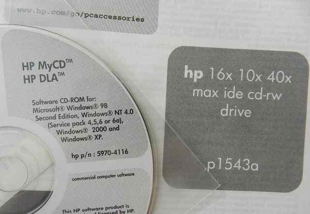 Оптический привод CD-RW HP p1543a