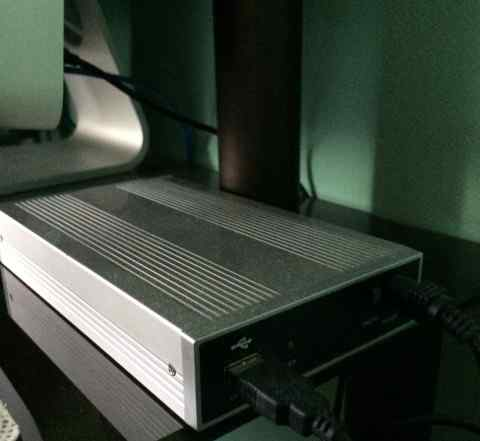 Внешний бокс для жесткого диска HDD 3.5 SATA