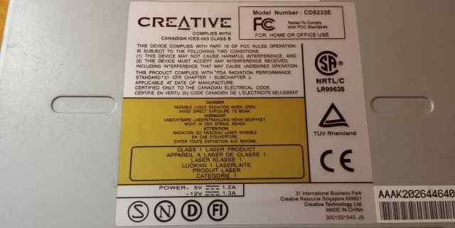 CD-ROM Creative CD5233E