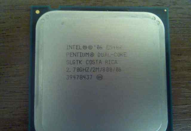 Процессор Intel Pentium E5400 + Куллер
