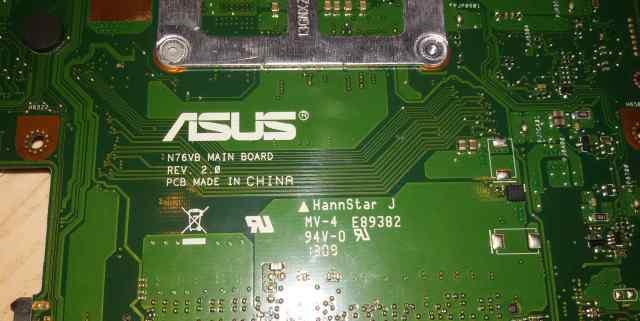 Материнка Asus N76VB