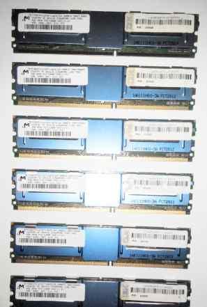 Серверная память32x 4Gb PC2 5300F DDR2 667 FB-dimm