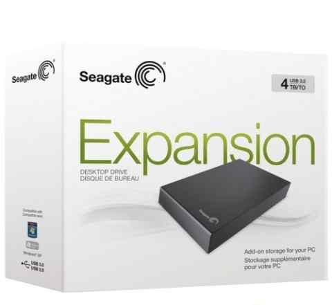 Жесткий диск Seagate Expansion Desktop 4Tb USB 3.0