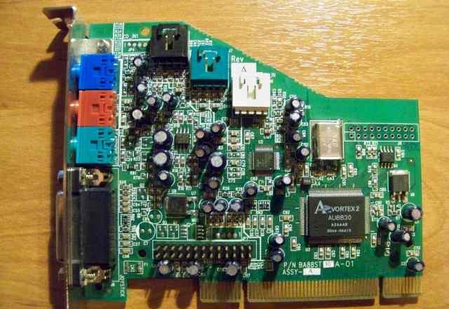 Звуковая карта PCI Aureal SQ2500 Vortex-2 AU8830
