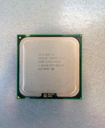 Процессор Intel Core 2 Duo 1.86GHz E6300