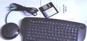 Комбинированная беспроводная клавиатура BTC5110s