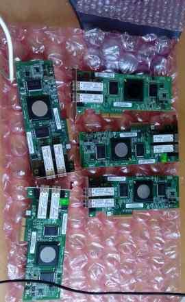 QLogic QLE2462 Dual-Port, 4Gbps FC