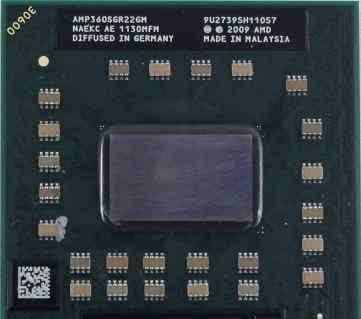 Процессор для ноутбука Sockets AMD Athlon II P360