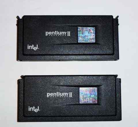 Процессор Slot1 Pentium II 266 Mhz