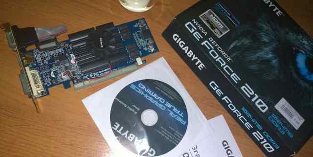 NVidia GeForce 210 - 1024mb DDR3