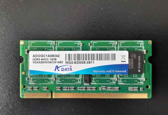 Модуль памяти A-Data SO-dimm 1Gb DDR2 PC3200