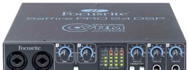 Звуковая карта Focusrite Saffire PRO 24 DSP