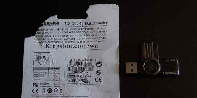 Флэшка kingston 1000 GB