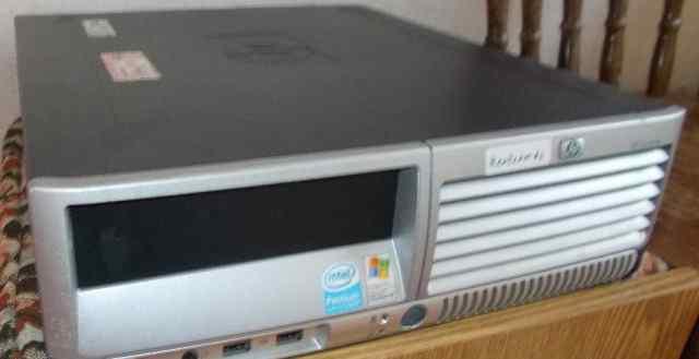 Ультратонкие HP DC7700s E2160 / 2Gb / Win7 лежачие