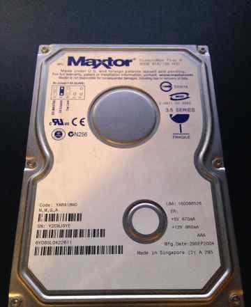 Maxtor yar41bwo 80gb