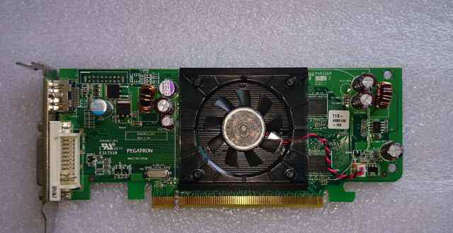 ATI radeon HD3450 256MB PCI-express dell F343F