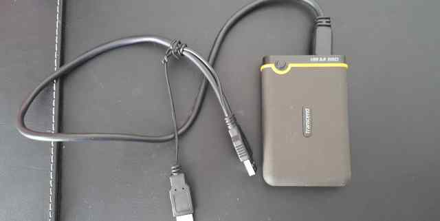 Накопитель Transcend Portable SSD 128Gb