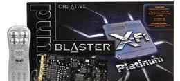 �������� ����� Creative X-Fi Platinum