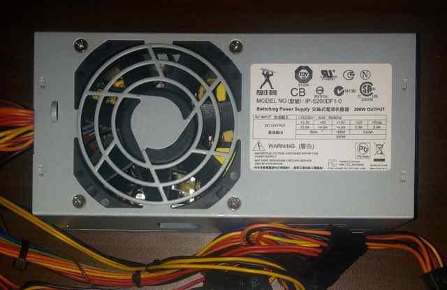 Блок питания Powerman IP-S200DF1-0 200W (TFX)