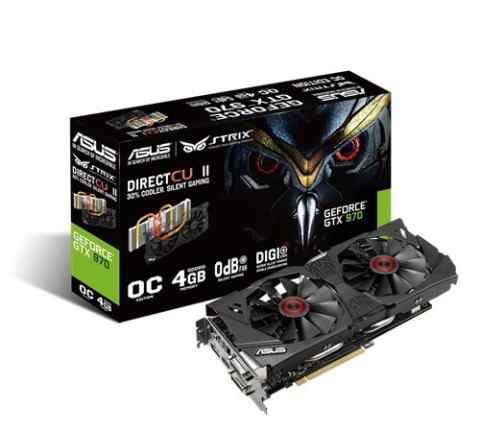 Asus Strix GTX970 4Gb
