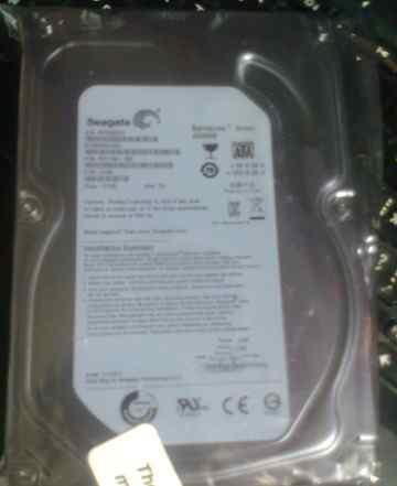 Жесткий диск на 2TB Seagate ST2000DL003