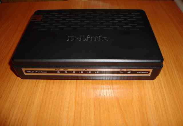 Adsl2+ роутер D-link DSL-2540U (новый в коробке)