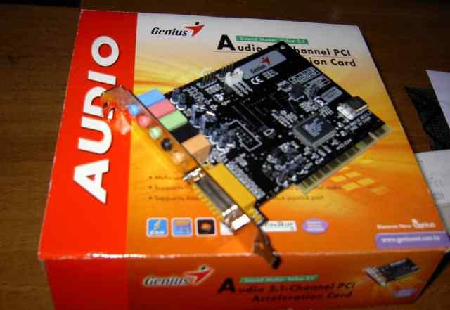 Звуковая карта Genius С-Media Sound Maker 5.1 PCI