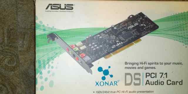 Звуковя карта встроенная Asus xonar DS PCI 7.1