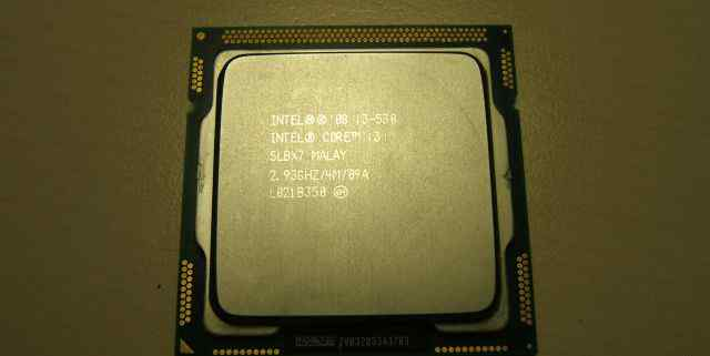 Intel Core i3-530 /2.93GHz /4m /slbx7