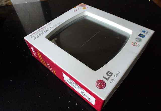 Внешний привод portable LG-GP10