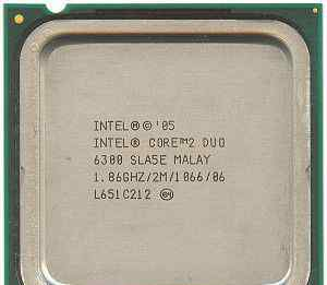 Процессор Intel Core 2 Duo 6300 1.86 GHz