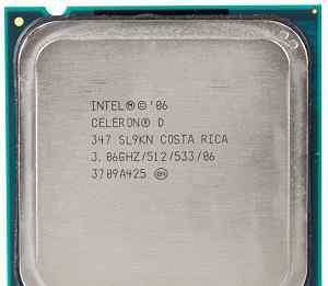Intel Celeron D 347 Cedar Mill. Зеленоград