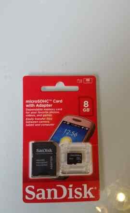 MicroSD 8GB Sandisk