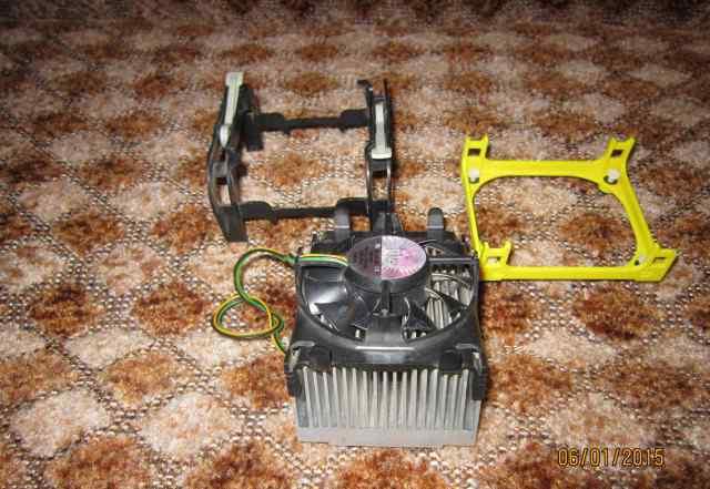 Боксовый кулер Intel Socket 478 и Крепеж к маме