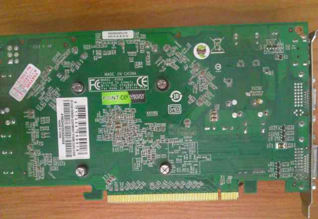 Point of View GeForce 9800 GT 512 Mb