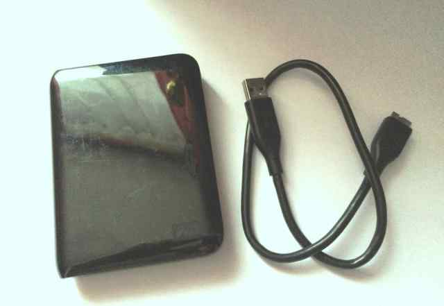 Жесткий диск WD My Passport 750Gb USB3.0