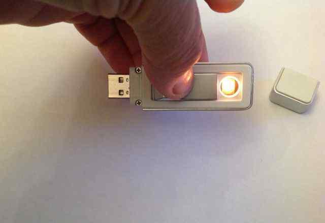 Электронная зажигалка USB (0т 1 до 50 )