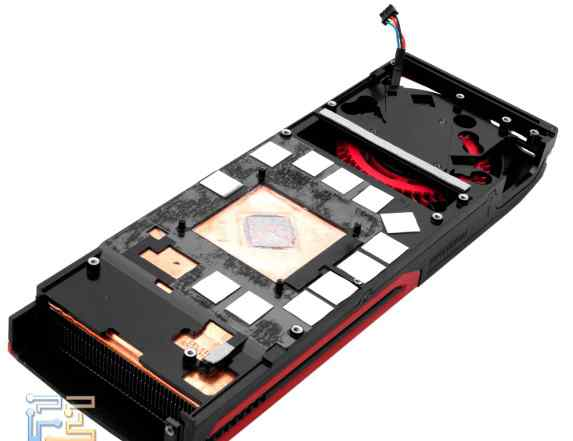 Система охлаждения для видеокарты Radeon 7970