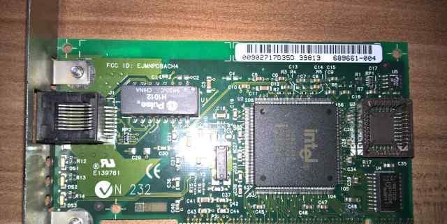 Сетевая карта Ethernet 10/100 Intel Pro PCI